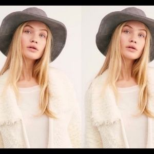 Free people Tennessee suede bucket hat o/s